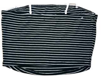 Black White Stripe Cami