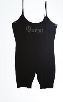 Black Silver Dazzle Queen Jumper