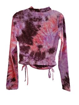 Purple Pink Dye Top