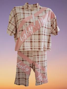 Baby Phat Mauve Pink Short 2PC Set