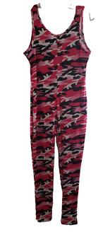 Pink Black Camo Jumper