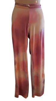 Purple Aqua Thongflow Wide Leg