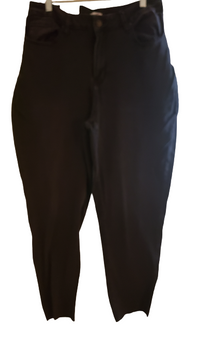 Black Mom High Rise Tapered Jeans