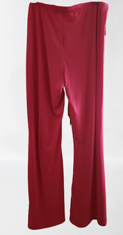 Fusch Pink Tie Front Palazzo Wide