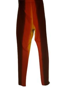 Burgundy Red Dye Legg