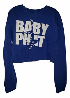 Baby Phat Royal White Long Sleeve