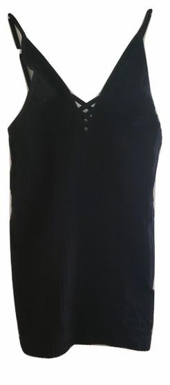 Black Rib Cami