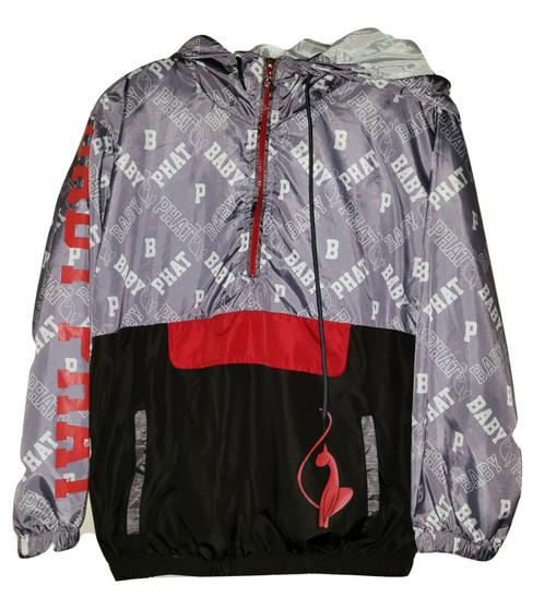 Baby Phat Black Red Zip Jacket