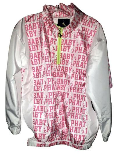 Baby Phat White Pink Wind Breaker