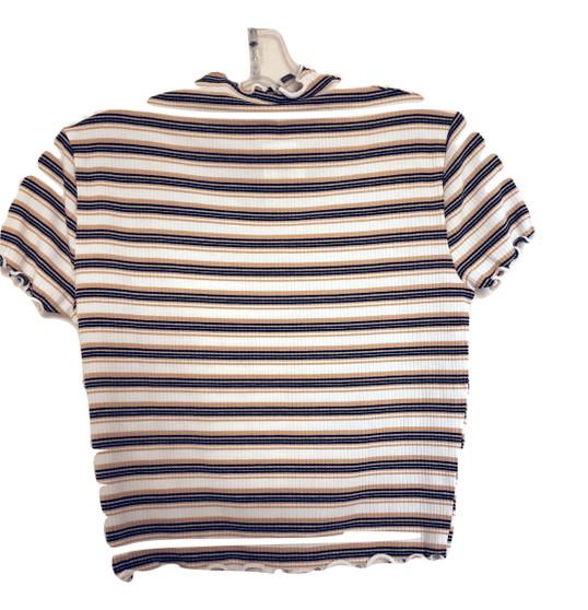 Yellow Black Stripe Top