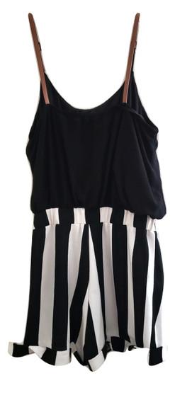 Black White Stripe Jumper
