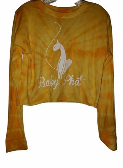 Baby Phat Yellow White Long Sleeve