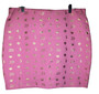 Baby Phat Pink Gold Mid Skirt