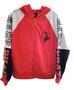 Baby Phat Red Gray Black Hood Warmer