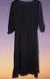 Black Split Maxi Top