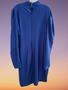 Royal Blue Drape Dress