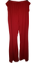 Red Wide Flare Palazzo's
