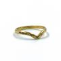 Gold V Ring