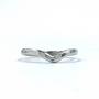 Sterling Silver V Ring