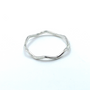 Sterling Silver Thin Crown Ring