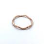 Rose Gold Thin Crown Ring