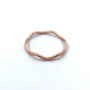 Rose Gold Thin Crown Ring