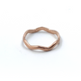Rose Gold Thick Crown Ring