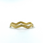Gold Thick Crown Ring