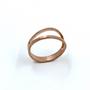 Rose Gold Split Ring