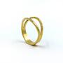Gold Split Ring