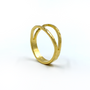 Gold Split Ring