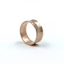 Rose Gold Concave Ring