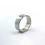 Sterling Silver Concave Ring