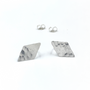 Sterling Silver Debra Posts Earrings