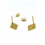 Gold Debra Posts Earrings