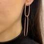 Rose Gold Maya Earrings