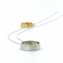 Circle Of Life Necklace  Silver & Gold