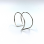 Medium Double Wire Cuff  Sterling Silver