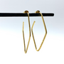 Gold Large Eve Wire Hoops