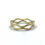 14K Gold Double Thin Crown Ring
