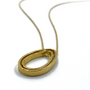 Circle Of Life Double Gold Teardrop