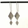 Autumn Earrings Silver