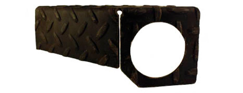 Fender Bar Light Bracket - Diamond Plate