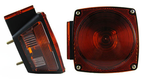 "Under 80"" Incandescent Taillight - Left Side"