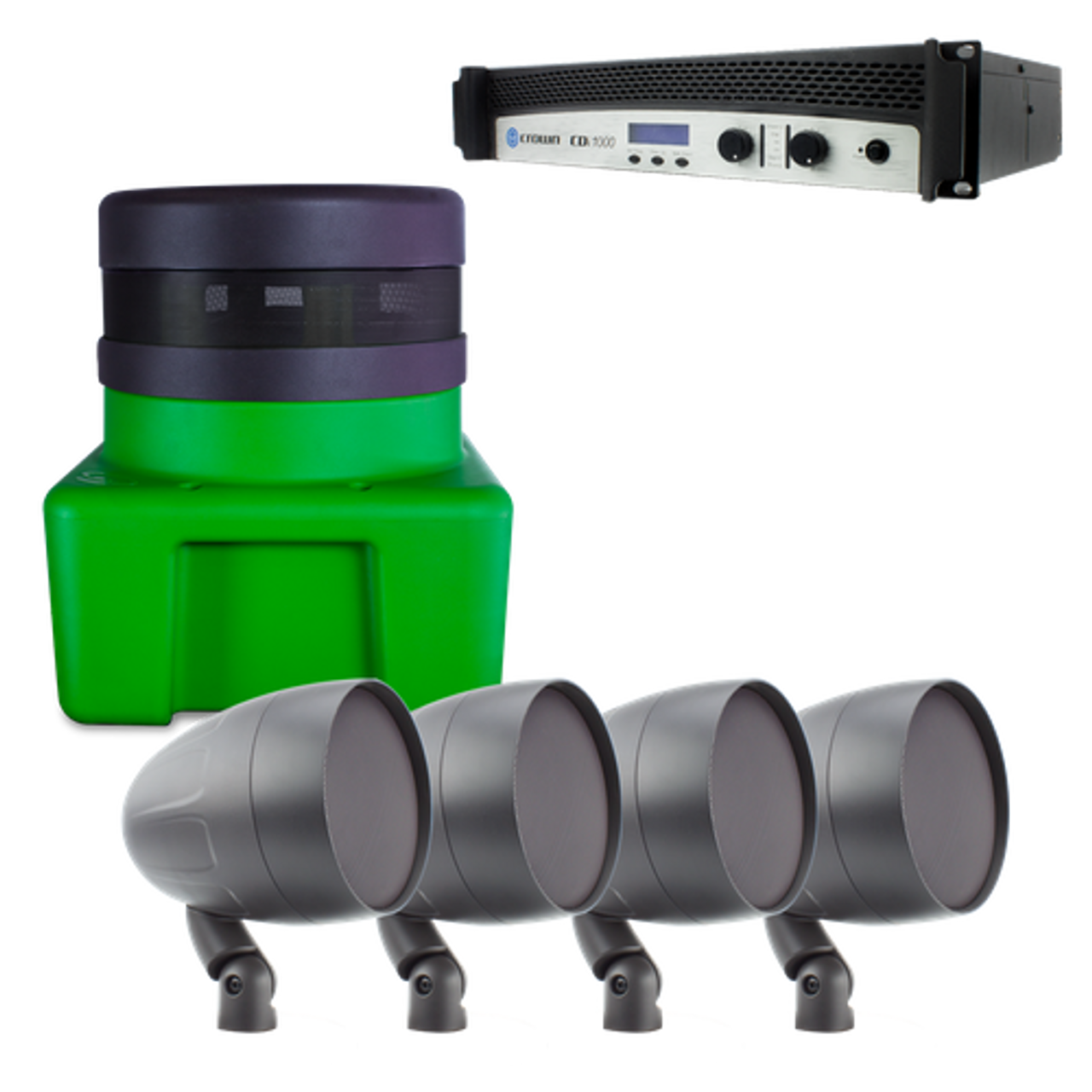 "TruAudio Elements Series AS2 4 speaker kit with 12"" HS Sub & 1000w Amp"