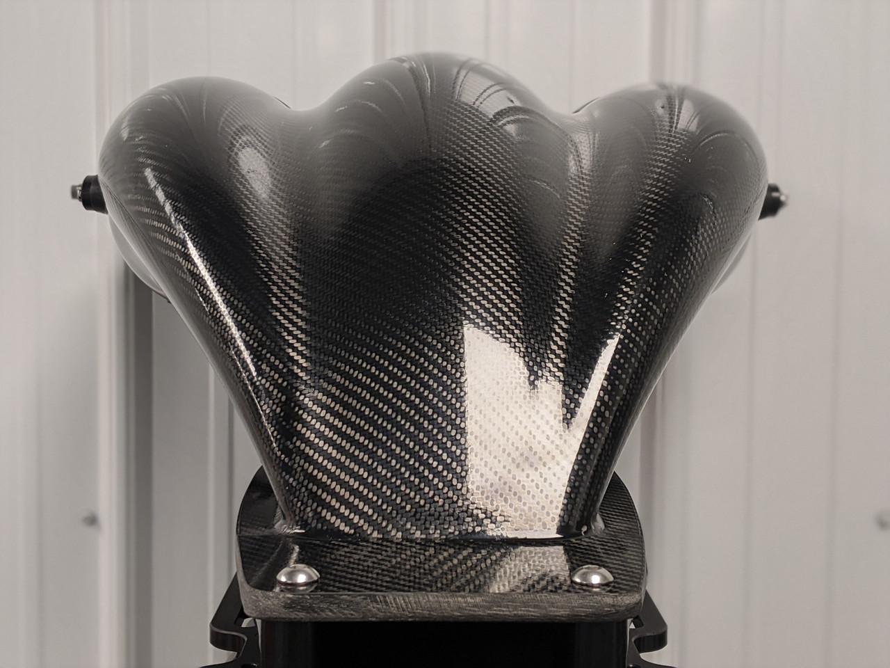 """MCH1 10.5"""" Carbon Fiber Injector Hat w/ Spray Bar DMPE 400-043-99-1424A H"""