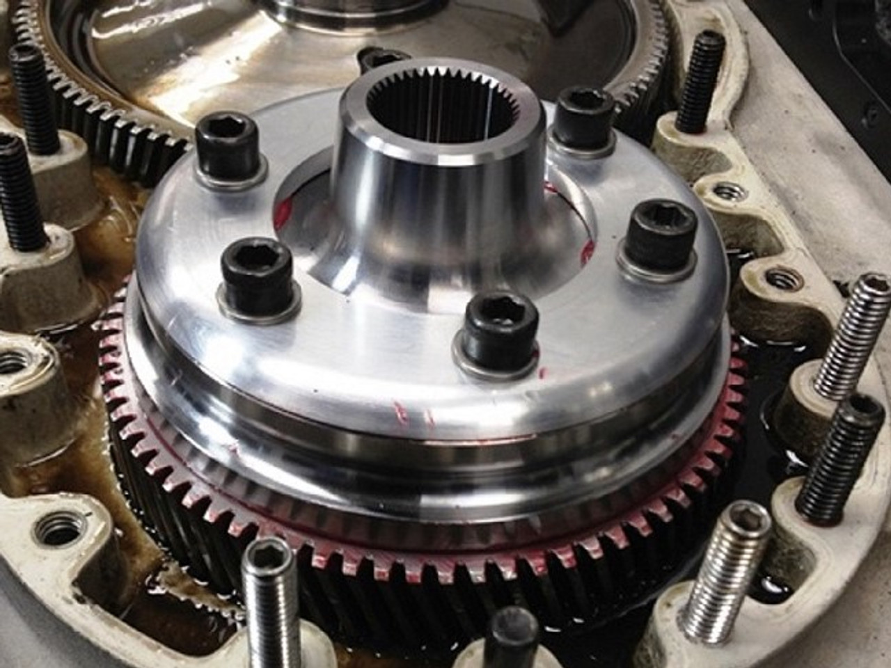 Screw Compressor Drive Absorber Assembly