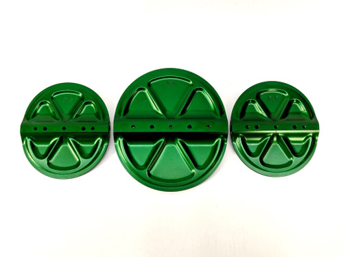 Injector Hat Blade Set Green DMPE 400-043-99-1510-GRN B