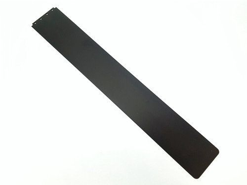 Belt Guard Side Protector (Long) Flat Alum. Piece Only