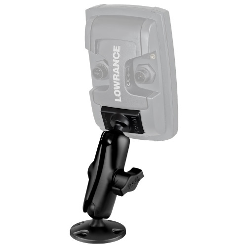 "RAM Mount 1"" Ball ""Light Use"" Composite Mount f\/Lowrance Elite-4 & Mark-4 Series Fishfinders [RAP-B-101U-LO11]"